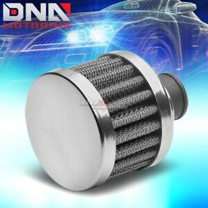 9mm Oil Catch Crankcase Valve Vent Cone White Air Intake Filter Breather Clamp