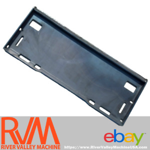 Case Skid Steer Skidsteer Loader Quick Attach Adapter Plate 5 16 Solid