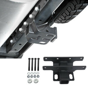 Rear Bumper 2 Bolt on Hitch Receiver For Jeep Wangler 07 18 Jk Unlimited