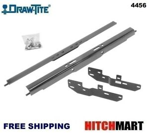 Under Bed Mounting Rail Kit For Under Above Bed Gooseneck Trailer Hitch 4456
