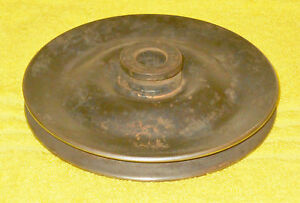 1965 1966 1967 1968 69 Ford Mustang Cougar 289 390 428 A C Power Steering Pulley