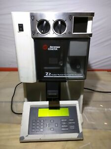 Beckman Coulter Z Series Z2 Lab Cell Particle Counter Size Analyzer