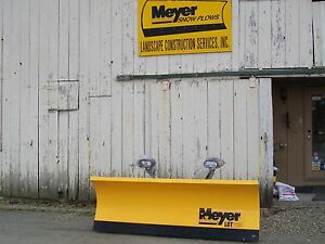 Meyer 8 Lot Pro Snow Plow New With Warranty One Left