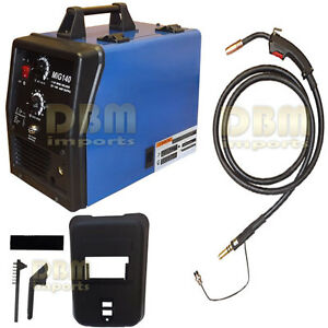 140 Mig Welder Welding Soldering Machine Rod 90amp 110v 115 Vac No Gas