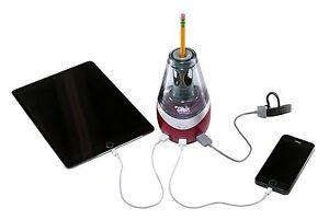Usb Charging Station Pencil Sharpener Electric Automatic Kids Lot Battery New