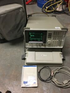 Hewlett Packard Hp 8590a Spectrum Analyzer 10 Khz 1 5 Ghz 021 H17