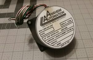 Anaheim Automation 1 8 Step Motor P n 34d109s 1 8vdc 4 8amp