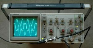 Tektronix 2235 100mhz Two Channel Oscilloscope Calibrated 2 Probes Sn B029331