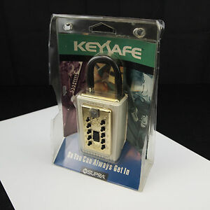 Supra C Keysafe Key Security Storage Locker Home Portable Model 001000 New