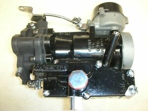 Corvair 64 Yh Turbo Carb Fully Rebuilt New Chrome Parts No Core Fee New Shaf
