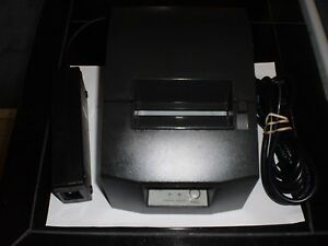 Star Micronics Tsp600 643d Pos Thermal Receipt Printer Parallel Cable Include