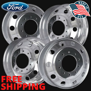 4 40018xp 19 5x6 Ford F450 F550 Wheel Accuride Polished alcoa Style 10 Lug