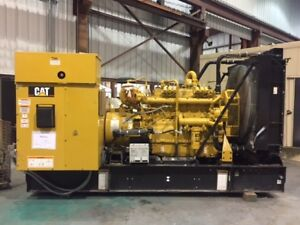 Caterpillar 240 Kw 3406 Used Natural Gas Generator