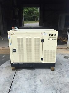 25 Kw Eg25uh35 Used Natural Gas Generator