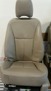 2007 Ford Edge Tan Leather Front And Rear Seats