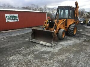 1979 Case 580b 2wd Tractor Loader Backhoe W Cab Coming In Soon