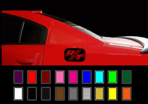 Dodge Charger Gas Cap Decal Overlay R T Hemi Vinyl Stickers 2011 18 Models