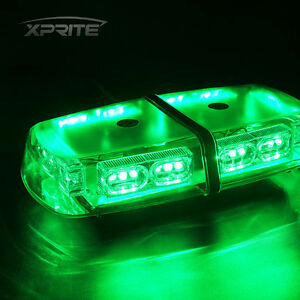 Xprite 36 Led Light Bar Roof Top Emergency Hazard Flash Magnetic Strobe Green