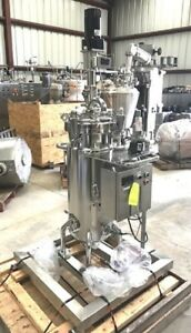 15 Gallon 60l 316l Stainless Steel Jacketed Reactor Pharmaceutical Sanitary