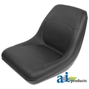 Am107759 New Black Seat For John Deere Compact Tractor 655 755 756 855 856 955