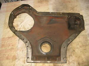 Ih Farmall Md Smd Td6 400 450 Diesel Front Engine Cover 8188d Antique Tractor