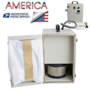 Fda Portable Dental Digital Dust Collector Vacuum Cleaner Dental Lab Usa Stock