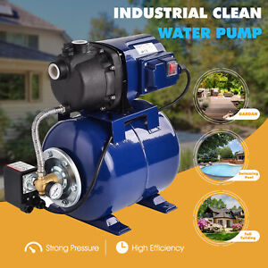 1200w Home Garden Irrigation Water Pump Shallow Well Pressurized 1000gph