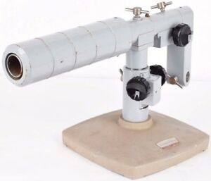 Ao American Optical Microscope Adjustable Desktop Boom Stand Base Unit No Head