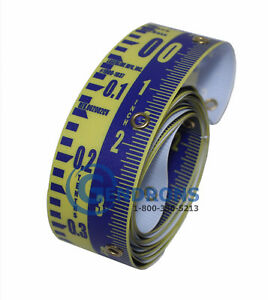 Replacement Tape 10 For Laserline Direct Elevation Inch 10th Lenker Grade Rod