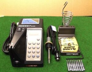 Hakko 927 Digital Soldering Station Complete With All Parts