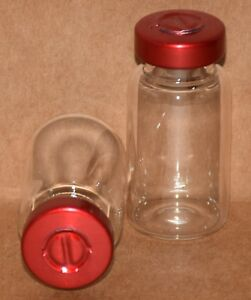10 Ml Clear Sterile Vial W Red Center Tear Seal Qty 25