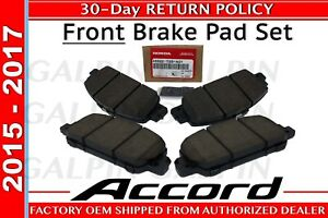 Honda Oem Genuine 2013 2017 Honda Accord Front Brake Pad Set 45022 T2g A01