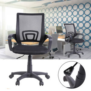 Ergonomic Midback Mesh Office Chair Executive Swivel Computer Desk Task Usa New