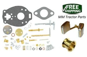 John Deere 1010 Tractor Carburetor Repair Kit Float Venturi Tsx860 Carb