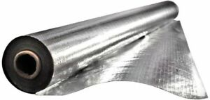 4x250 Heavy Duty Double Sided Perforated Attic Foil Radiant Barrier 1000 Sq Ft