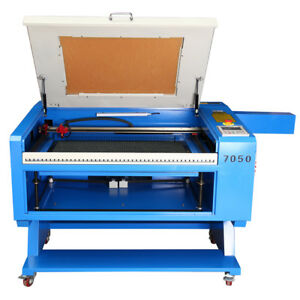 Usb 100w Co2 Laser Engraving Cutting Machine Engraver Cutter Dsp 700x500mm