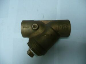 1 Watts Brass 2 Y strainer With Sweat Ends