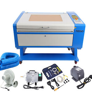 60w Co2 Laser Engraving Cutting Machine 500x700mm Up Down Table Usb Port Dsp