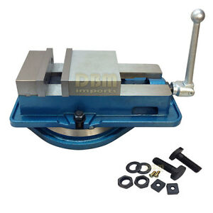 4 Precision Accu lock Vise Milling Machine With Swivel Base