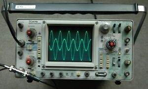 Tektronix 475 200mhz Oscilloscope Calibrated Fully Tested Sn B288999