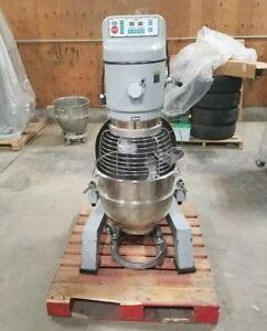 60 Quart Planetary Dough Pizza Floor Mixer 3 Phase 208v Globe