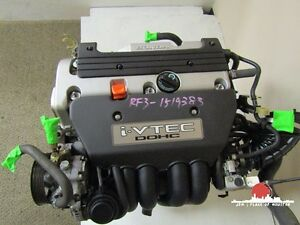 2002 2005 Jdm Honda Civic Si Ep3 Acura Rsx Base Engine 2 0l K20a K20a3