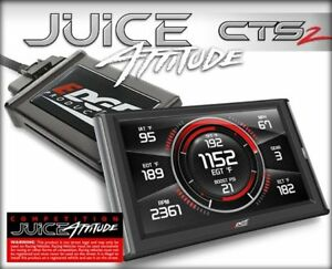 Edge Juice With Attitude Competition Cts2 Monitor For 01 02 Dodge Cummins 5 9l