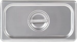 1 3 Size Stainless Steel Steam Table Buffet Hotel Pan Lid Cover pack Of 6