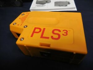 Pls 3 Laser Level Tool In Box W Pouch