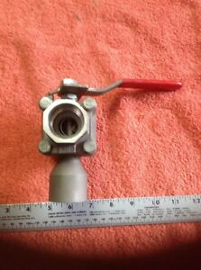 Worcester Three Way Or Diverter Ball Valve Stainless Steel 1