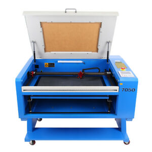 80w Co2 Usb Laser Engraving Engraver Cutter Machine 700x500mm Dsp Control Ce