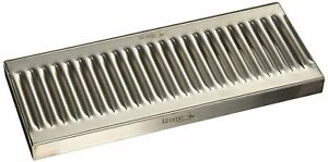 Krome Dispense C606 Stainless Steel Drip Tray Surface No Drain 12 X 5 1 2