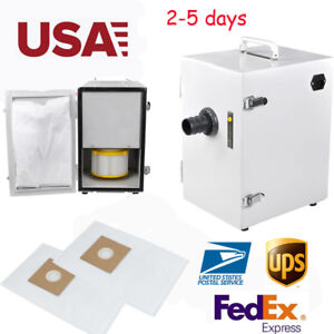Usa Strong Power Dental Lab Digital Dust Collector Motor Vacuum Cleaner Box Fda