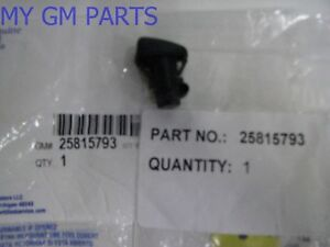 Cadillac Cts Windshield Washer Fluid Sprayer Nozzle 2008 2015 New Oem 25815793